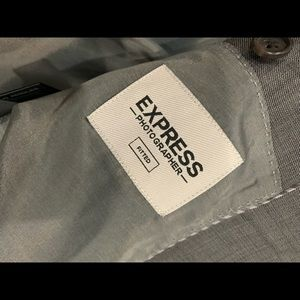 Express Photographer fitted suit 42R 32/34